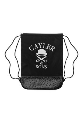 Cayler & Sons Gymbag NO.1 White Marble Black – Bild 1