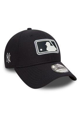 New Era League Logo 39Thirty Cap NY YANKEES Dunkelblau – Bild 1