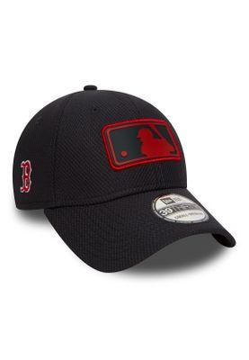 New Era League Logo 39Thirty Cap BOSTON RED SOX Dunkelblau – Bild 1