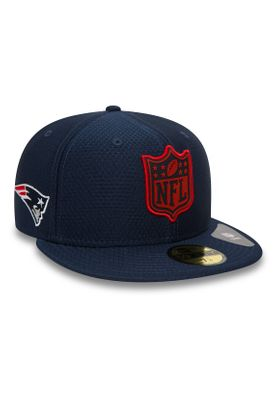 New Era League Logo 59Fifty Cap NEW ENGLAND PATRIOTS Dunkelblau – Bild 1