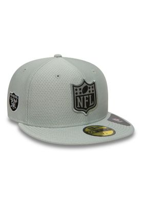 New Era League Logo 59Fifty Cap OAKALAND RAIDERS Hellgrau – Bild 1