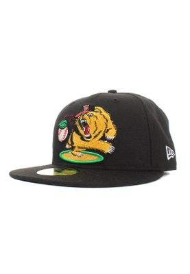New Era Minor League Fregri 59Fifty Cap FRESNO GRIZZLIES Schwarz – Bild 0