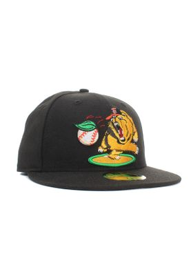New Era Minor League Fregri 59Fifty Cap FRESNO GRIZZLIES Schwarz – Bild 1