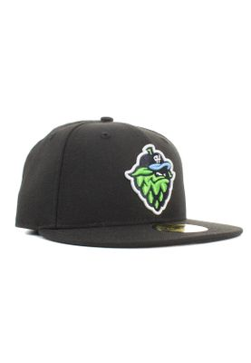 New Era Minor League Hilhop 59Fifty Cap HILLSBORO HOPS Schwarz – Bild 1