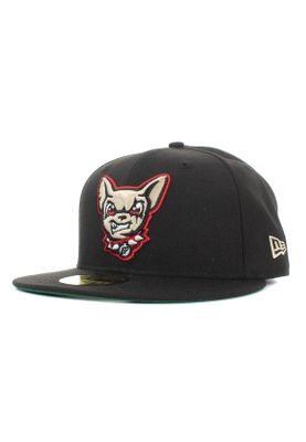 New Era Minor League Elpchi 59Fifty Cap EL PASO CHIHUAHUAS Schwarz – Bild 0
