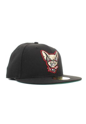 New Era Minor League Elpchi 59Fifty Cap EL PASO CHIHUAHUAS Schwarz – Bild 1