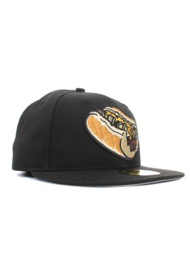New Era Minor League Lehiro 59Fifty Cap LEHIGH VALLEY IRON PIGS Schwarz – Bild 1