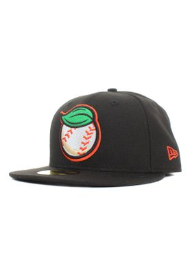 New Era Minor League Fregri 59Fifty Cap FRESNO GRIZZLIES BALL Schwarz – Bild 0