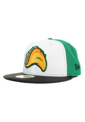 New Era Minor League Fregri 59Fifty Cap FRESNO GRIZZLIES Mehfarbig Grün Weiß – Bild 0