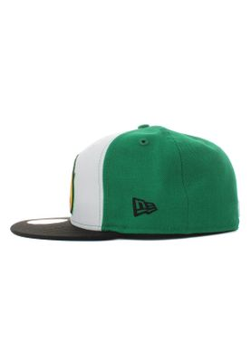 New Era Minor League Fregri 59Fifty Cap FRESNO GRIZZLIES Mehfarbig Grün Weiß – Bild 2