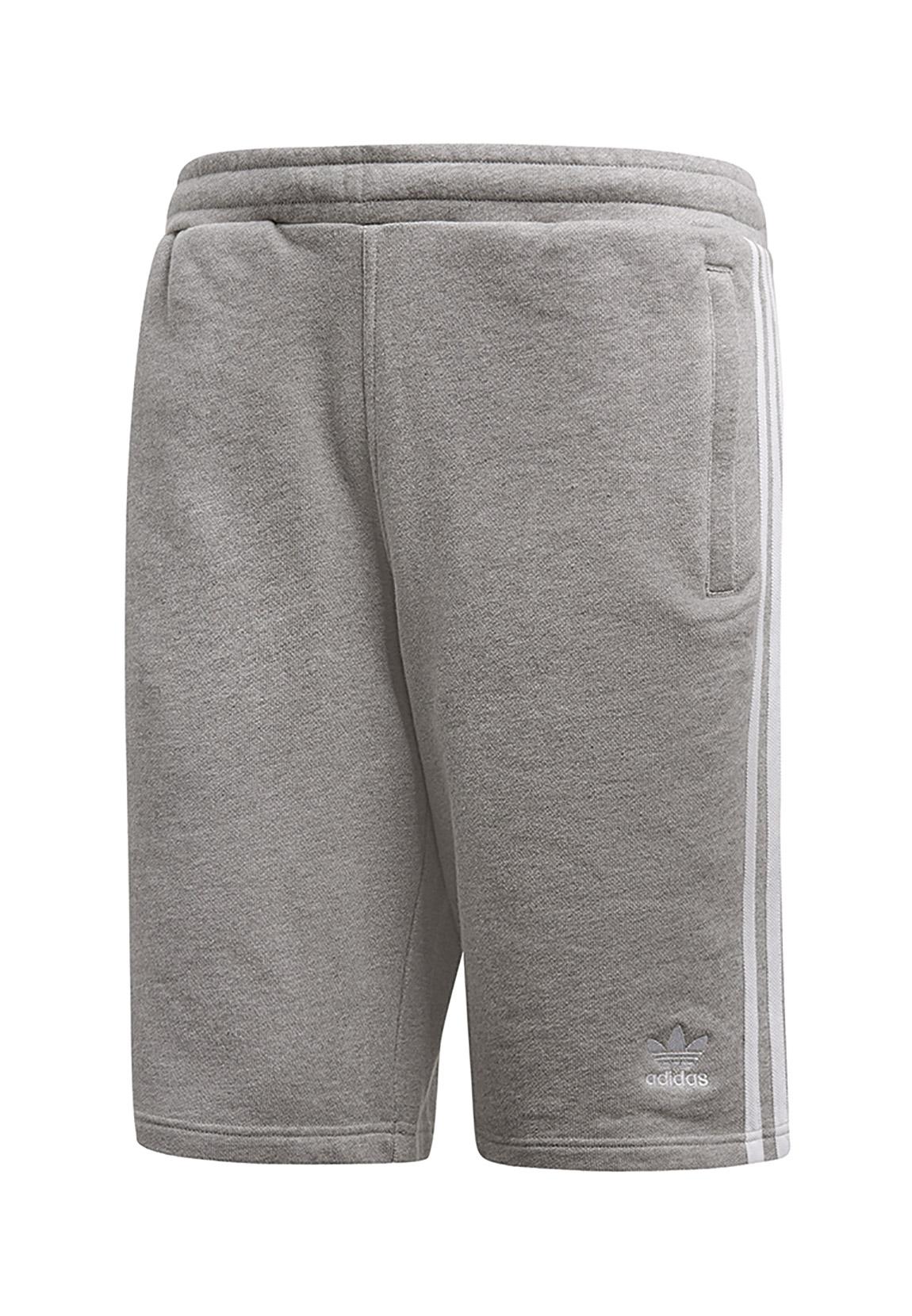 Details about Adidas Originals Men's Shorts 3 Stripe Shorts DH5803 Grey