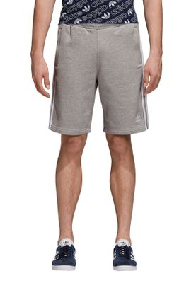 Adidas Originals Herren Shorts 3 STRIPE SHORT DH5803 Grau  – Bild 1