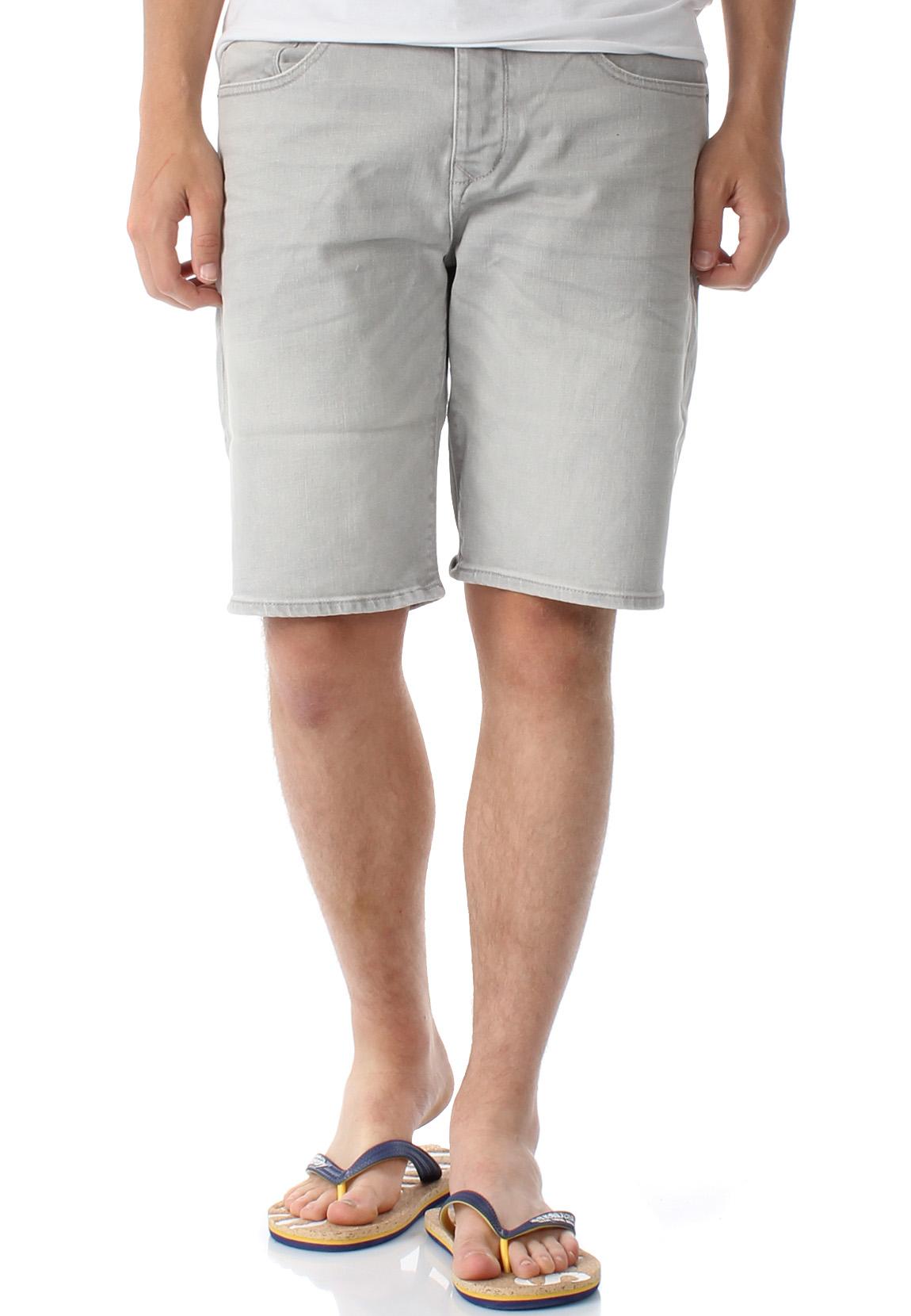 moderner Stil Schnelle Lieferung am besten einkaufen Superdry Shorts Herren BIKER SHORT Vista Grey
