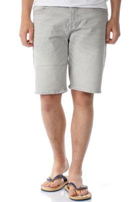 Superdry Shorts Herren BIKER SHORT Vista Grey – Bild 0