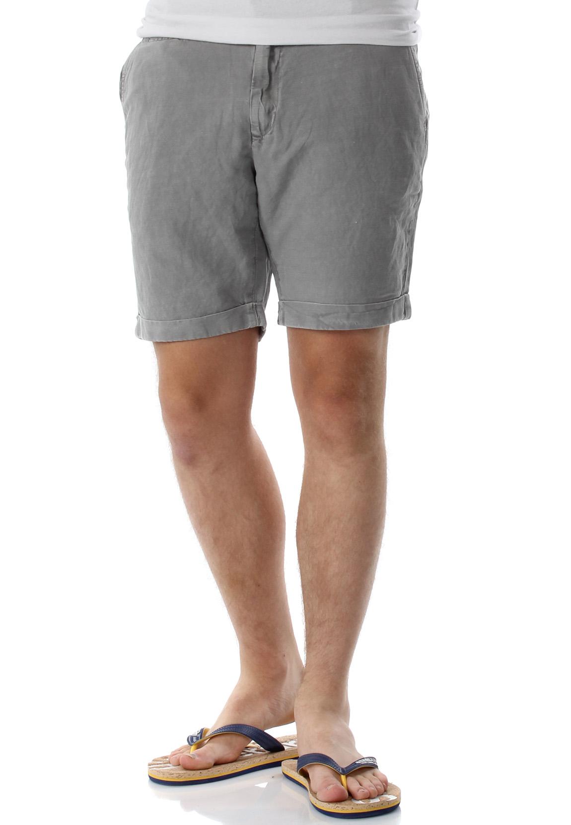ce0e920fddd377 LTB Shorts Herren ENZO Enzo Quarry Grau Herren Shorts & Jogging