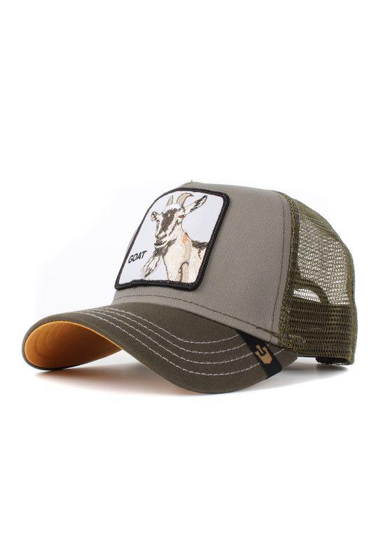 Goorin Bros. Trucker Cap GOAT BEARD Olive – Bild 0
