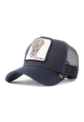 Goorin Bros. Trucker Cap ELEPHANT Navy – Bild 0