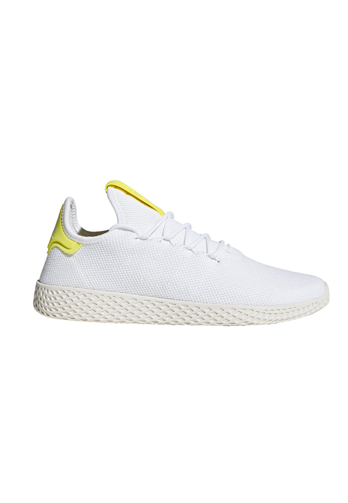 ADIDAS ORIGINALE Sneakers PW TENNIS HU b41806 BIANCO GIALLO