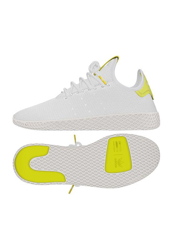 Adidas Original Sneaker PW TENNIS HU B41806 Weiß Gelb – Bild 0