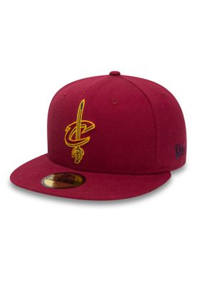 New Era NBA Chainstitch 59Fifty Cap CLEVELAND CAVALIERS Rot