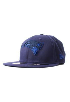 New Era League Pop 59Fifty Cap NEW ENGLAND PATRIOTS Blau – Bild 0