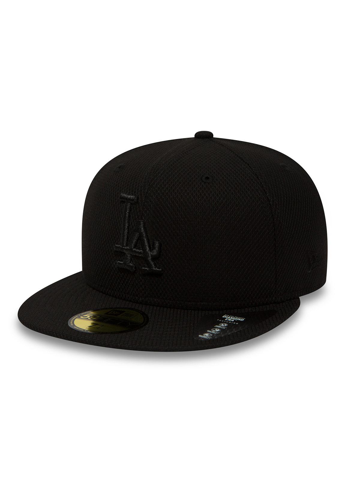 75ca8084230 New Era Diamond Era 59Fifty Cap La Dodgers Black Black