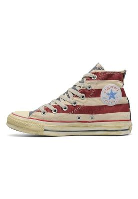 Converse Chucks High CT AS RUMMAGE HI 1V829 White Navy Red