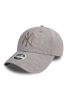New Era Essntl Jrsy 9Forty Damen Adjustable Cap NY YANKEES Beige