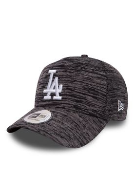 New Era Engineered Fit Adjustable Cap LA DODGERS Dunkelgrau – Bild 0