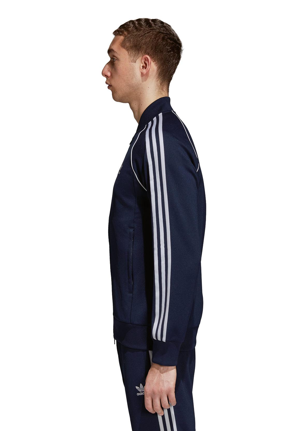 adidas originals herren sweatjacke sst tt dh5822 dunkelblau herren sweater hoodies. Black Bedroom Furniture Sets. Home Design Ideas