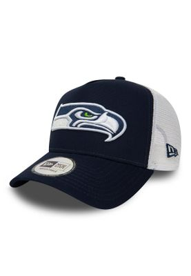 New Era Team Essntl Trucker Adjustable Cap SEATTLE SEAHAWKS Dunkelblau