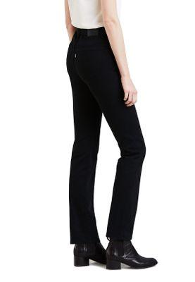 Levis Damen Jeans 724 HIGH RISE STRAIGHT 18883-0006 Schwarz – Bild 1