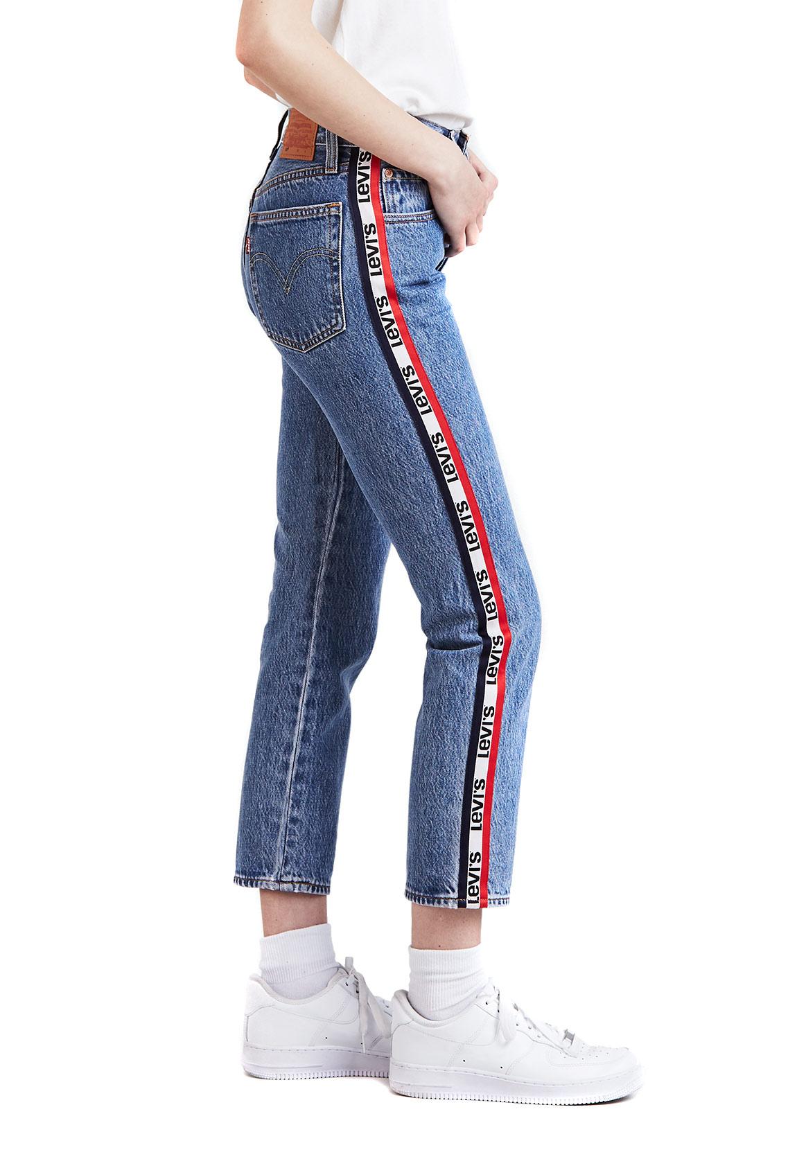 Levis Damen Crop Jeans 501 ORIGINAL 36200-0013 Blau Damen Jeans   Hosen 541ee6502c