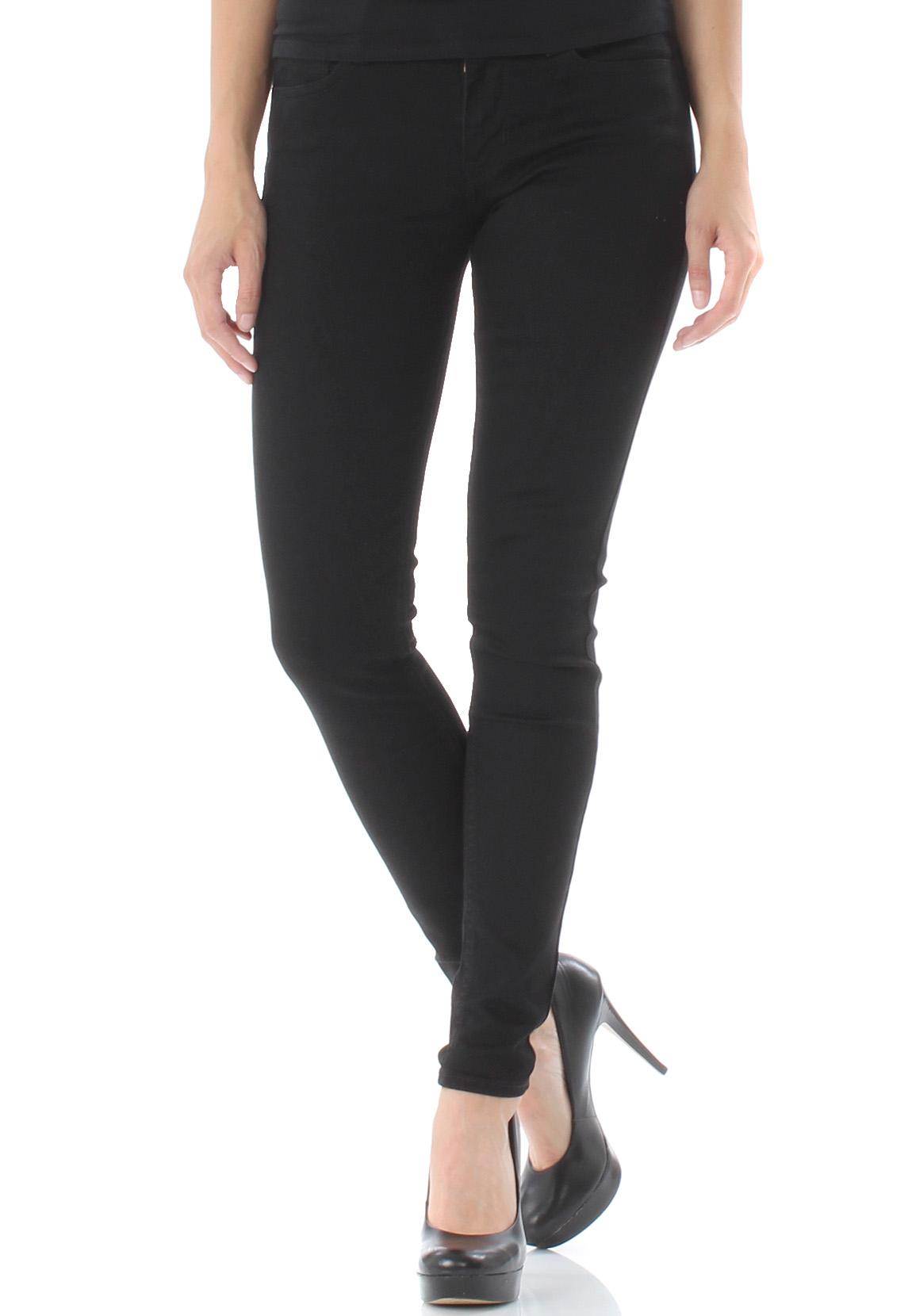 levis damen jeans 710 super skinny 17780 0039 schwarz damen jeans hosen. Black Bedroom Furniture Sets. Home Design Ideas