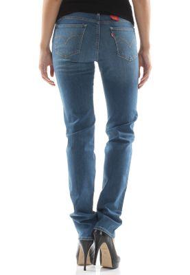 Levis Damen Jeans 712 SLIM FIT 18884-0004 Blau – Bild 2