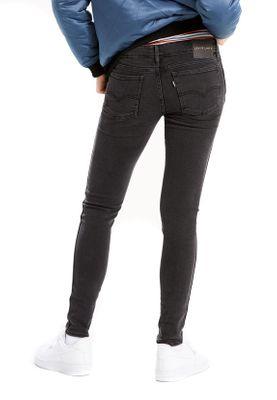 Levis Damen Jeans LINE 8 LOW SUPER SKINNY 29420-0008 Schwarz – Bild 3