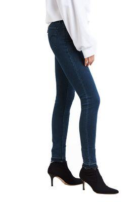 Levis Damen Jeans 710 SUPER SKINNY 17780-0042 Dunkelbau Ski Lodge – Bild 1