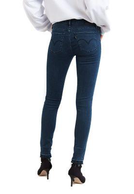 Levis Damen Jeans 710 SUPER SKINNY 17780-0042 Dunkelbau Ski Lodge – Bild 2