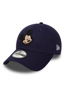 New Era Disney Patch 9Forty Kinder Adjustable Cap MICKEY MOUSE Blau