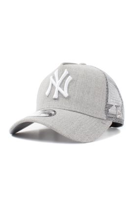 75cb3b3946b Neu New Era MLB Heather Kinder Trucker Cap NY YANKEES Grau