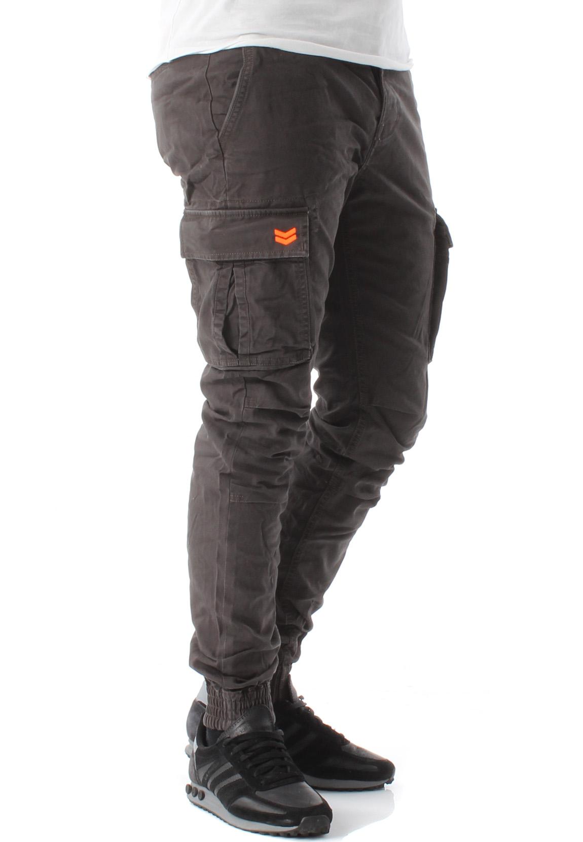 promo code 19bdd af020 Superdry Herren Cargo Hose ROOKIE GRIP CARGO Washed Black