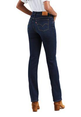 Levis Damen Jeans 724 HIGH RISE STRAIGHT 18883-0009 Dunkelblau – Bild 2