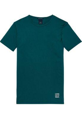 Scotch & Soda T-Shirt Men CLASSIC CREWNECK TEE 145525 Spruce Green 2391 Grün