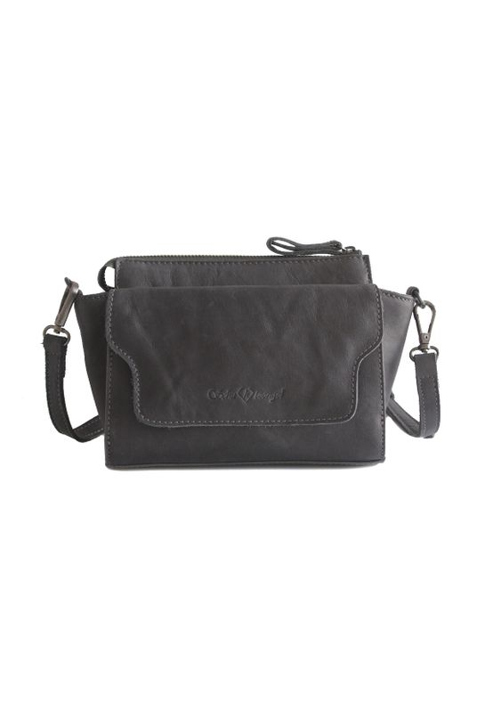 Schuhtzengel Tasche LIV Dark Grey Ansicht