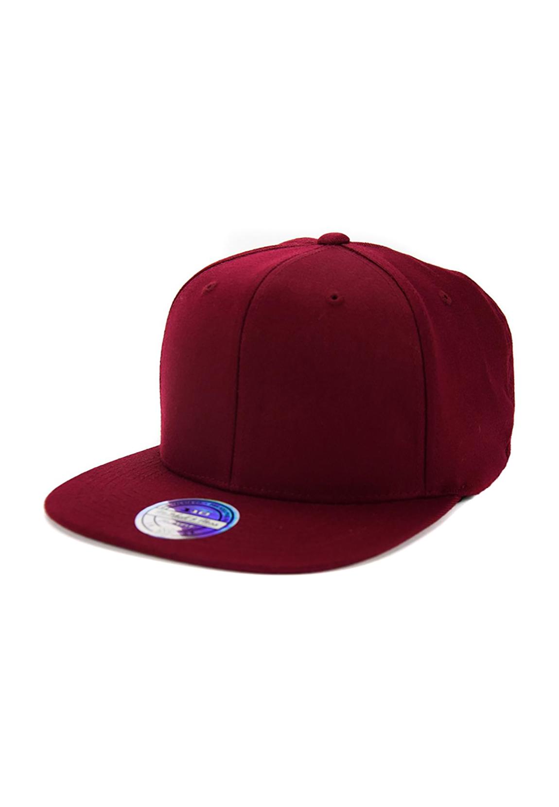 Mitchell   Ness Snapback Cap INTL211 Blank Dark Red  9c749e9b230