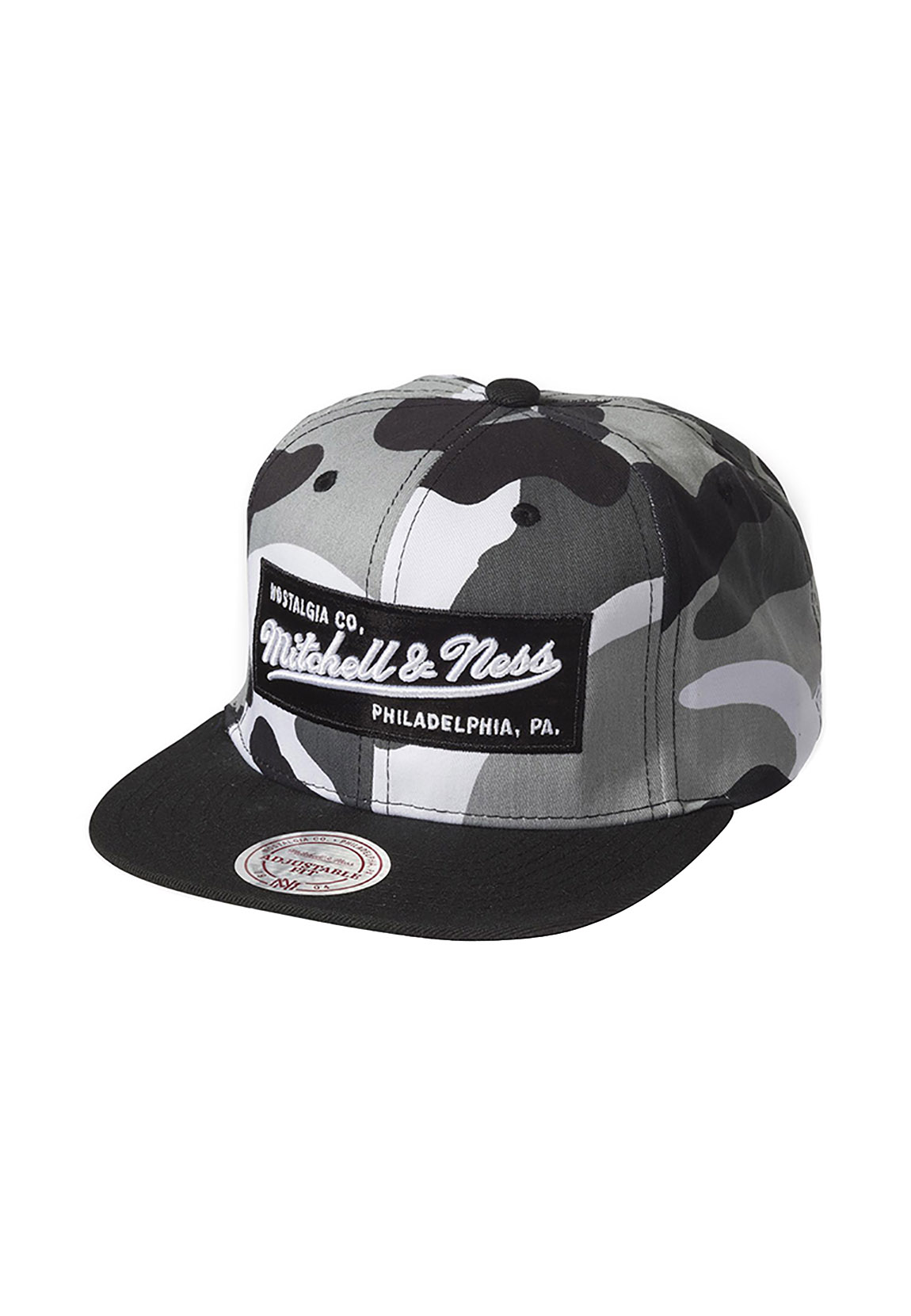 new arrival e2d1c 7d299 Details about Mitchell   Ness NE18Z Snapback Cap Mn Box Logo Urban  Camouflage