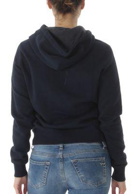 Converse Sweater Damen CORE HOODIE 10004543 Dunkelblau 424 – Bild 1