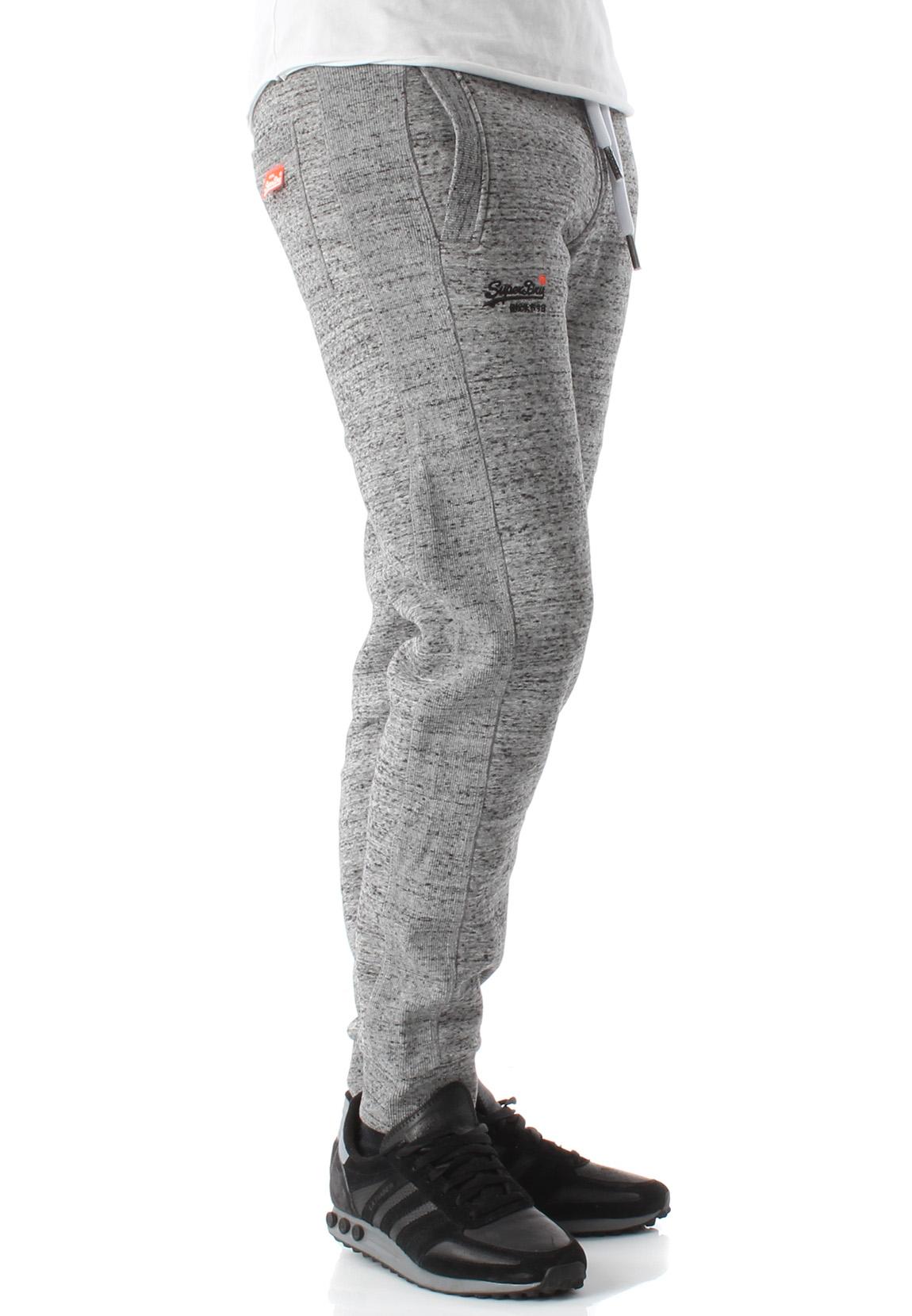 d1dc363e0f82 Superdry Pantalon de Jogging Homme Orange Étiquette Jogger Flint ...