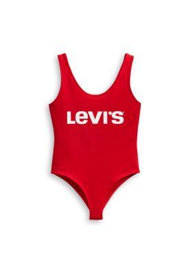Levis Damen Bodysuit GRAPHIC 57787-0000 Red Bodysuit Red – Bild 0