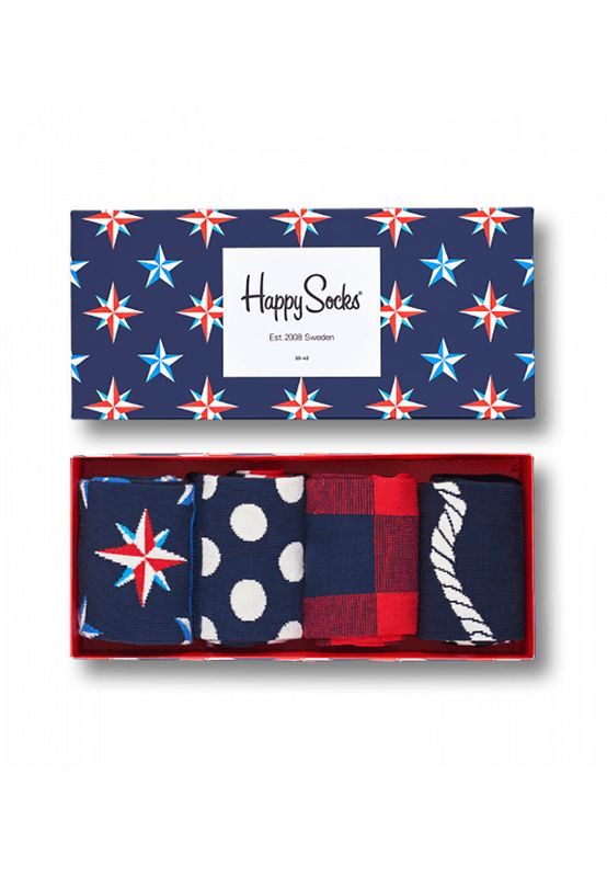Happy Socks Geschenkbox NAUTICAL GIFT BOX XNAU09-6000 Navy